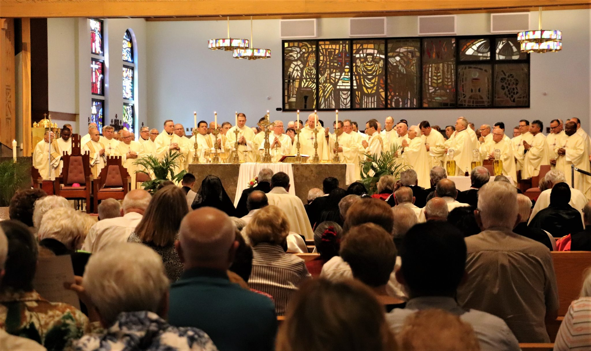 Chrism Mass: A Sign of Unity - Diocese of Venice